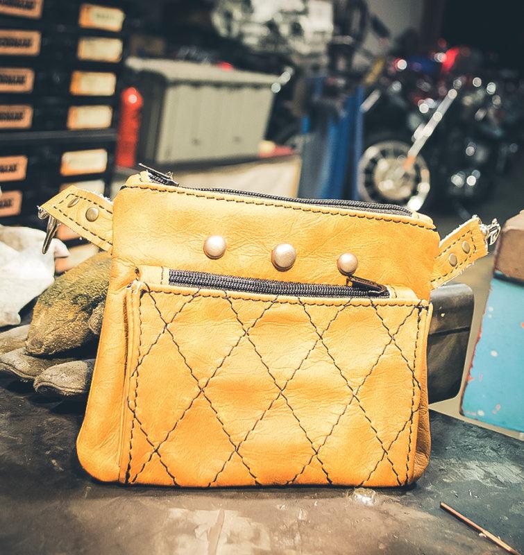 Saddle Tan Hip Bag